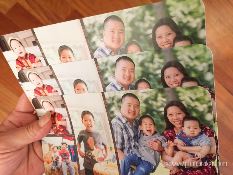 Mixbook photo cards personalized
