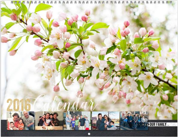 Photo book Girl Mixbook Calendars