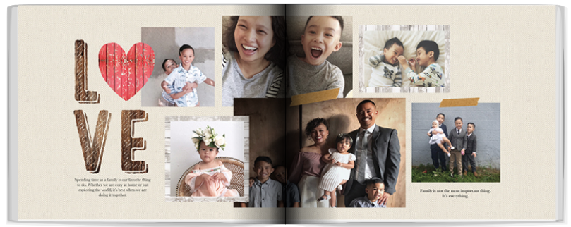 Shutterfly mother's day 2019 photo book idea