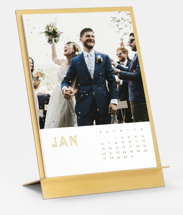 calendar with easel