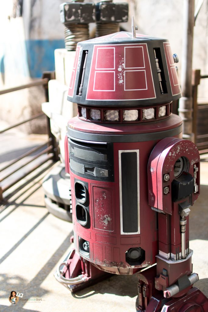 droids in Galaxy's Edge