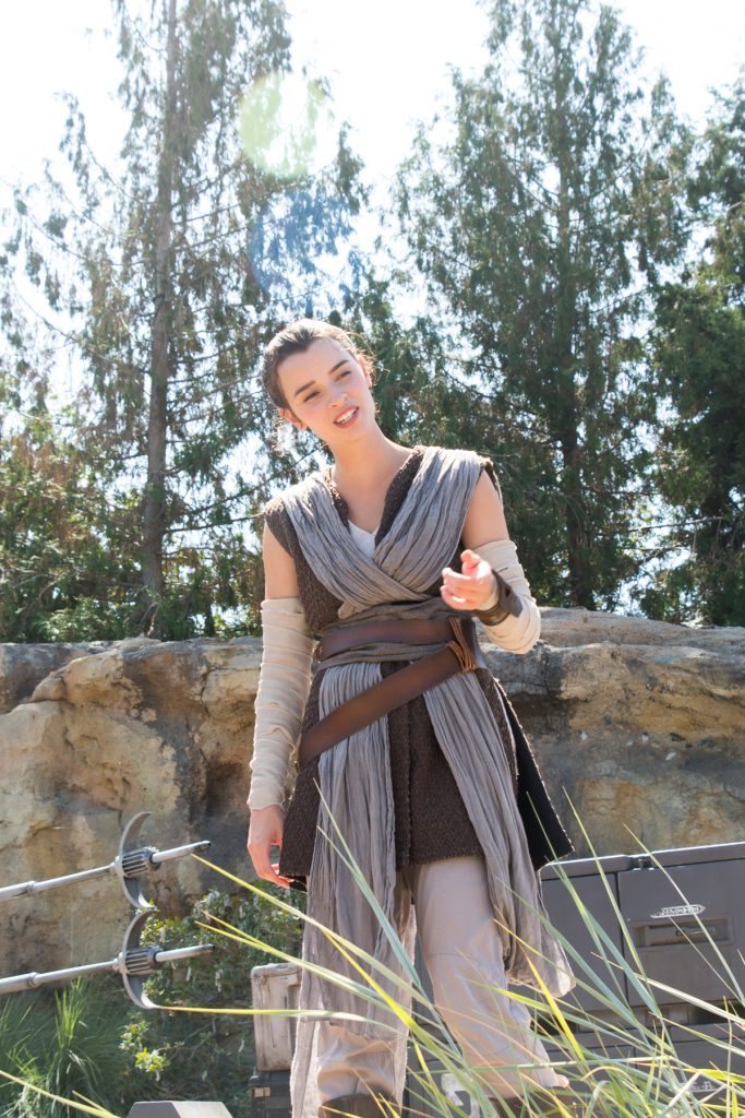 Rey at Black Spire Outpost Batuu Galaxy's Edge