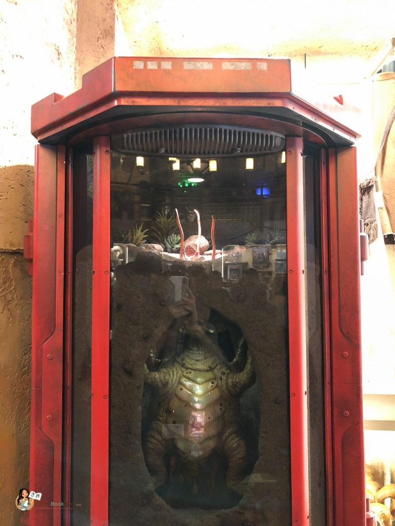 baby Sarlacc at Galaxy's Edge Disneyland