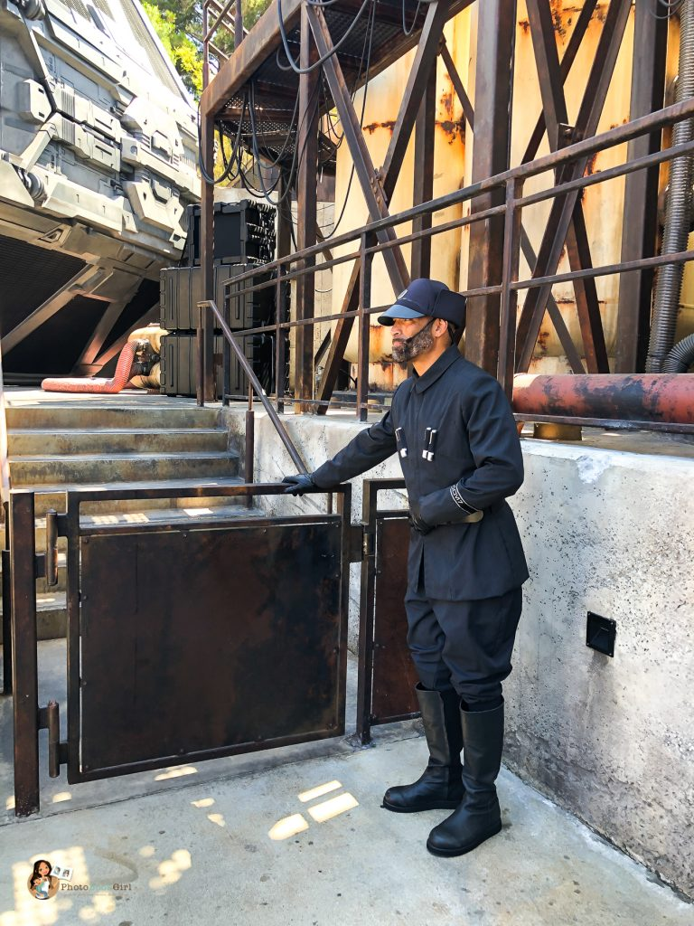 First Order Lieutenant at Galaxy's Edge