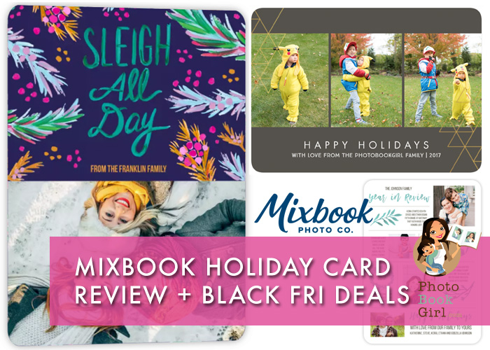 Mixbook Custom Holiday Cards Black Friday Deals 2019